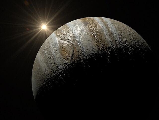 en büyük gezegen, en büyük gezegen hangisidir, evrenin en büyük gezegeni, dünyanın en büyük gezegeni, güneş sisteminin en büyük gezegeni hangisidir