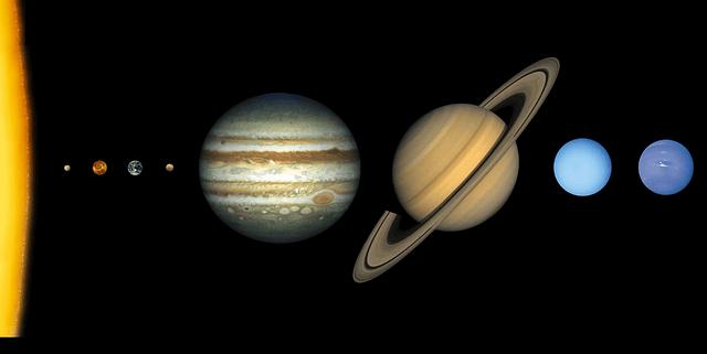 gezegenlerin siralanısı en büyük gezegen