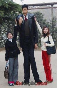 en uzun adamin boyu